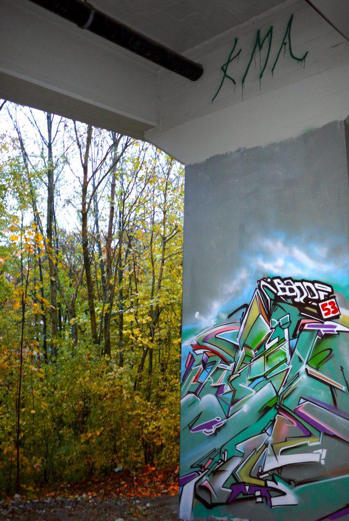 Peinture murale abstraite 53 nadib bandi fresques murales - Paillettes peinture murale ...
