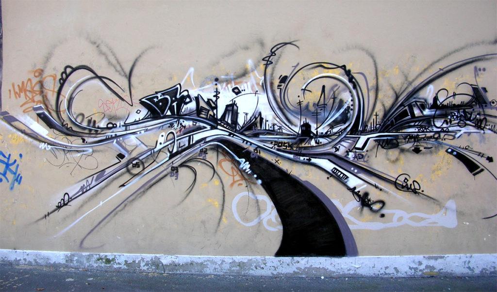 Graffiti Freestyle à L'usine Genève