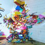Nadib Bandi Installation 3D abstract postGraffiti