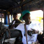Festigraff 4 Dakar Senegal dans le bus