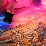 Detail Graffiti Sculpture Bandi exhibition