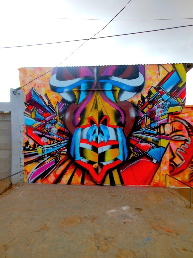 Graffiti à Lomé Togo 2013 Bandi Docta