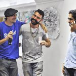 Chilling exposition vernissage Bandi