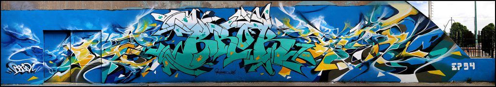 Brok Bandi Graffiti Vitry-sur-Seine