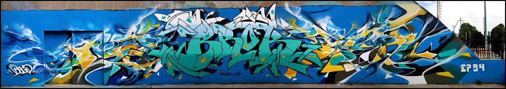 Graffiti in Vitry-sur-Seine, Bandi and Brok