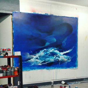 Peinture marine work in progress