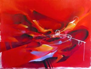 Abstract canvas Nadib Bandi Post-Graffiti