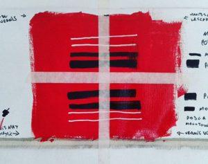 Varnish Test, Nadib Bandi abstract canvas.