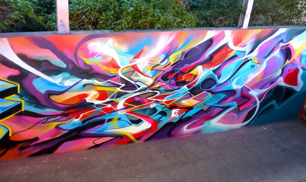 Graffiti Abstrait - Nadib Bandi