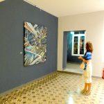 Abstract Graffiti Nadib Bandi Vernissage exposition