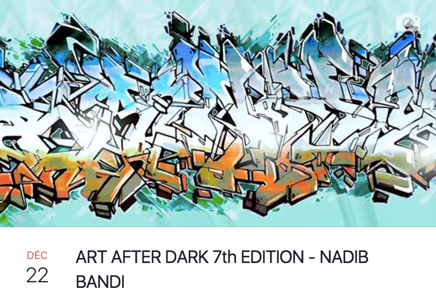 Ritz Carlton Dubai Art After Dark Nadib Bandi