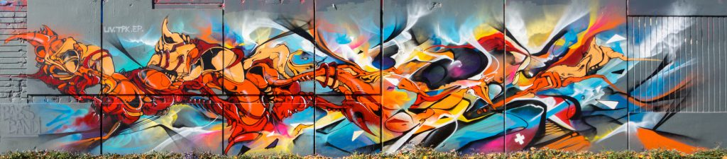 Babs et Bandi Graffiti Fusion vitry