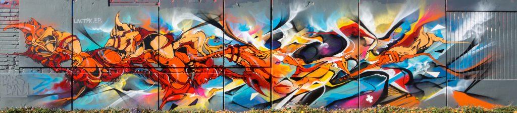 Babs et Bandi Graffiti Fusion vitry