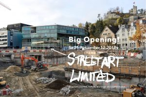 Big opening street art limited baden