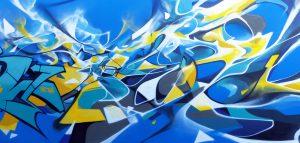 Graffiti Brok and Bandi Vitry 2017.