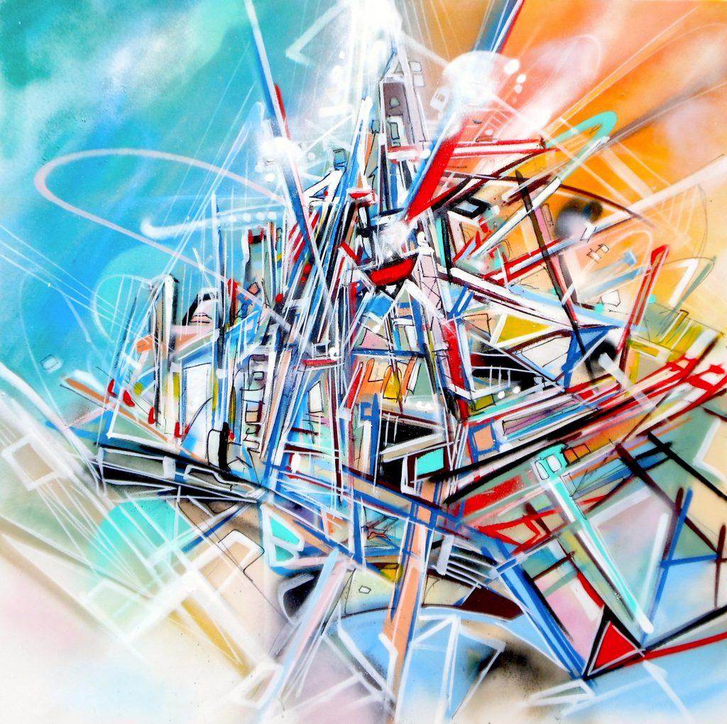 Tableau Cool and Warm Canvas Nadib Bandi 2013