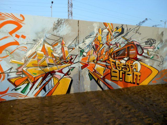 Graffiti Bandi Dakar Senegal Festigraff