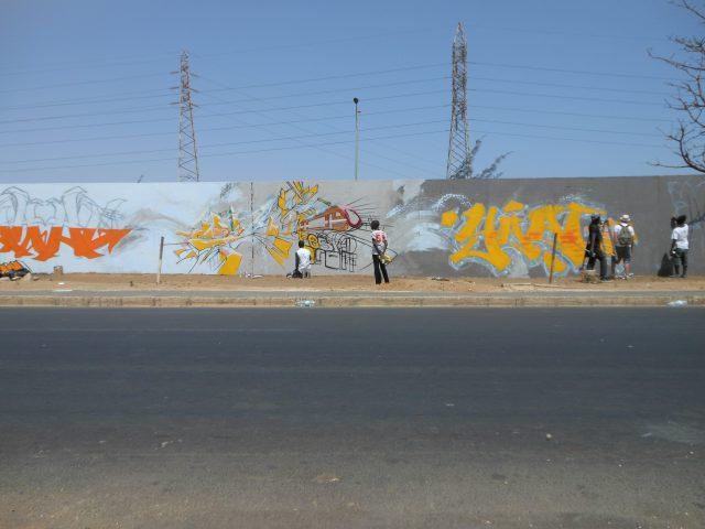 Graffiti Dakar HLM Festigraff4