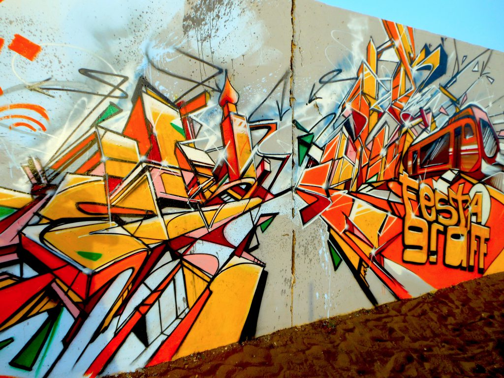 Graffiti Dakar HLM Festigraff4 Bandi