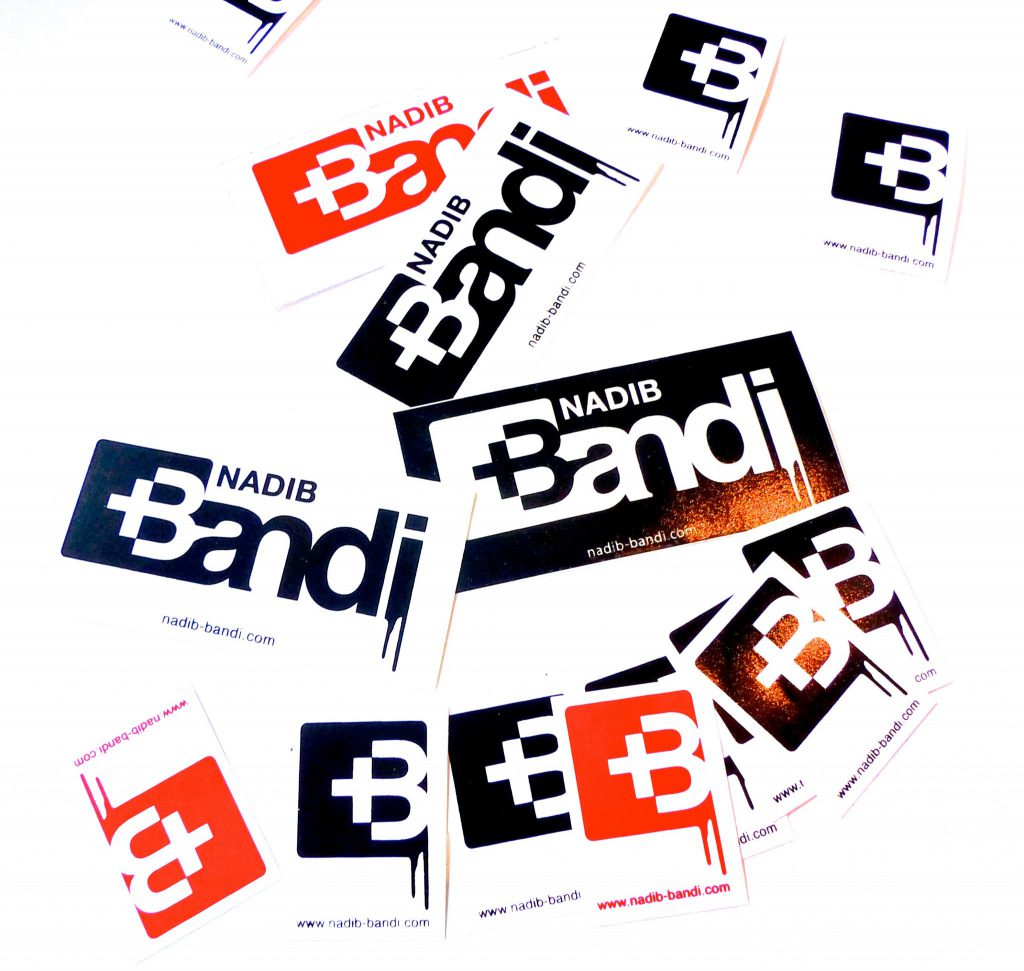 Nadib Bandi Contact Stickers postgraffiti