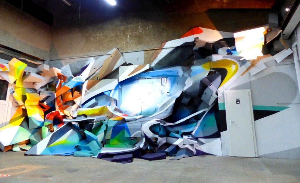 Nadib Bandi Installation pour Geneva Propaganda