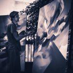 Nadib Bandi abstract graffiti residence villa des arts