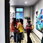 Vernissage Nadib Bandi Abstract Graffiti Villa des Arts