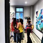 Vernissage Nadib Bandi Abstract Graffiti villa des arts