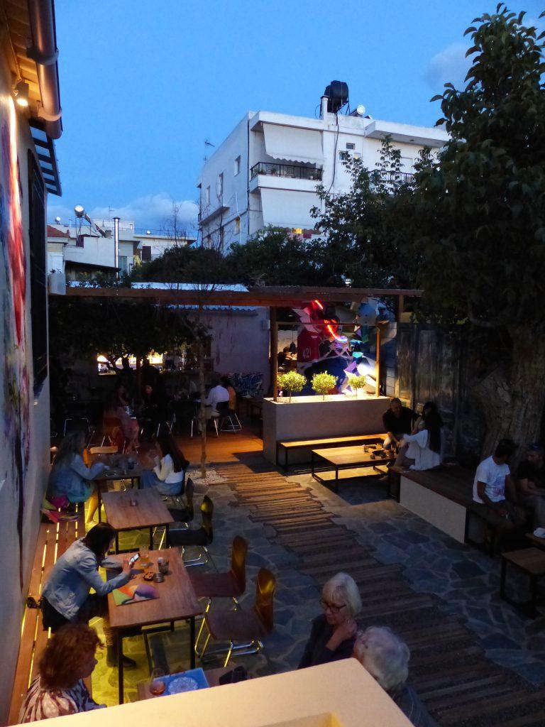 Villa des arts Nadib Bandi abstract graffiti vernissage exposition