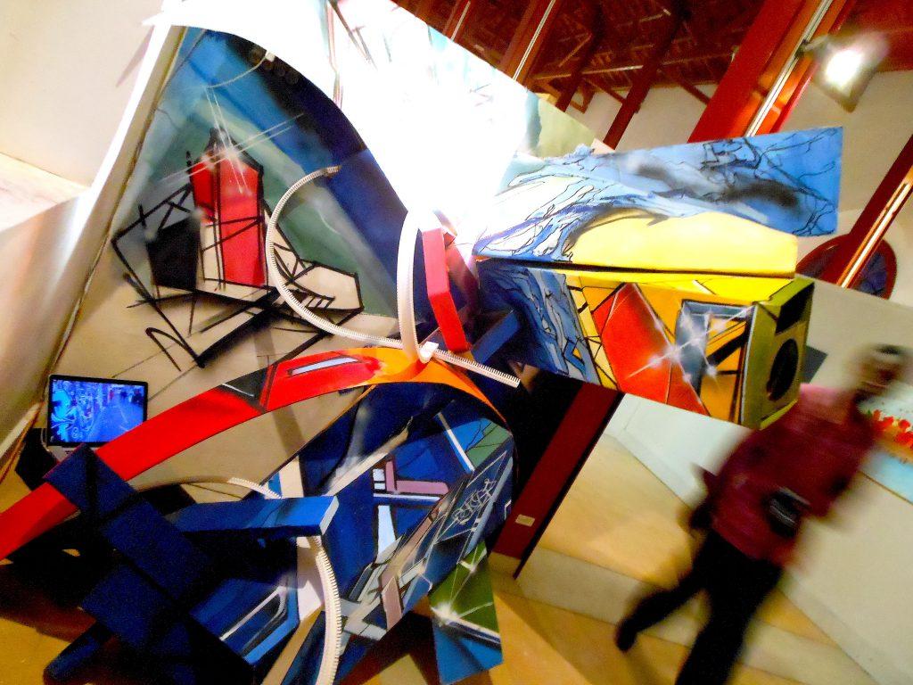 Installation pour l'exposition du Festigraff 4