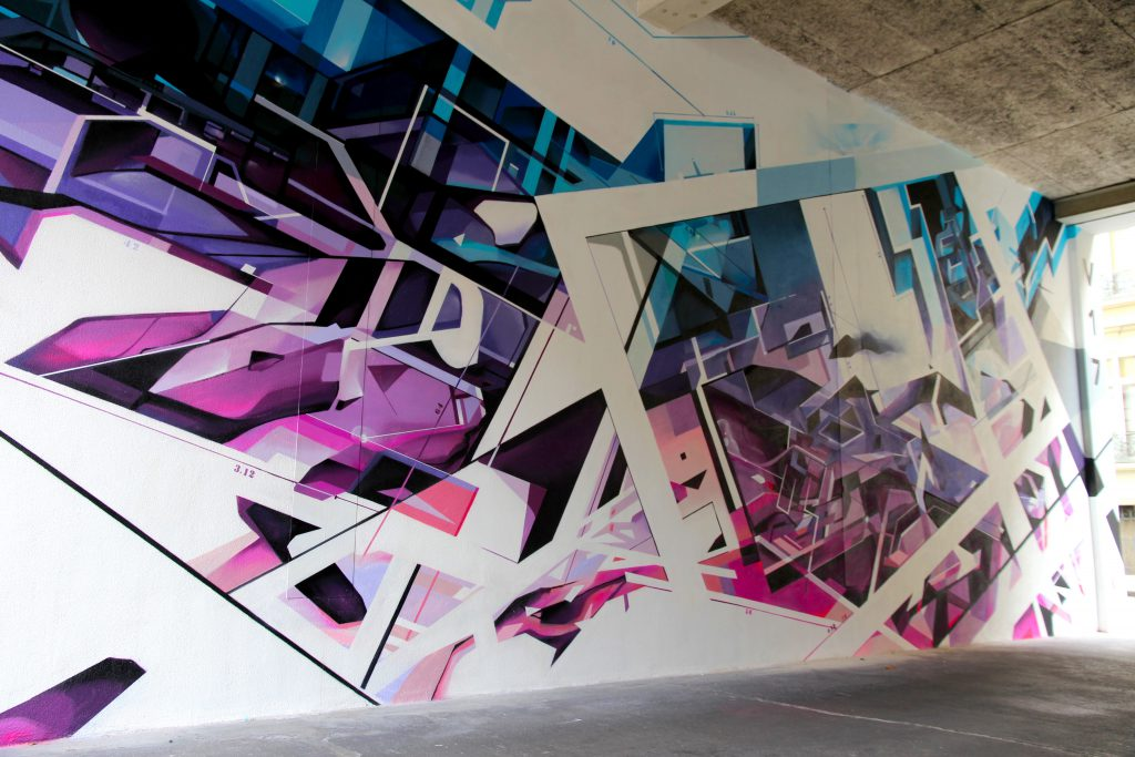 Nadib Bandi mural for Beric Architects