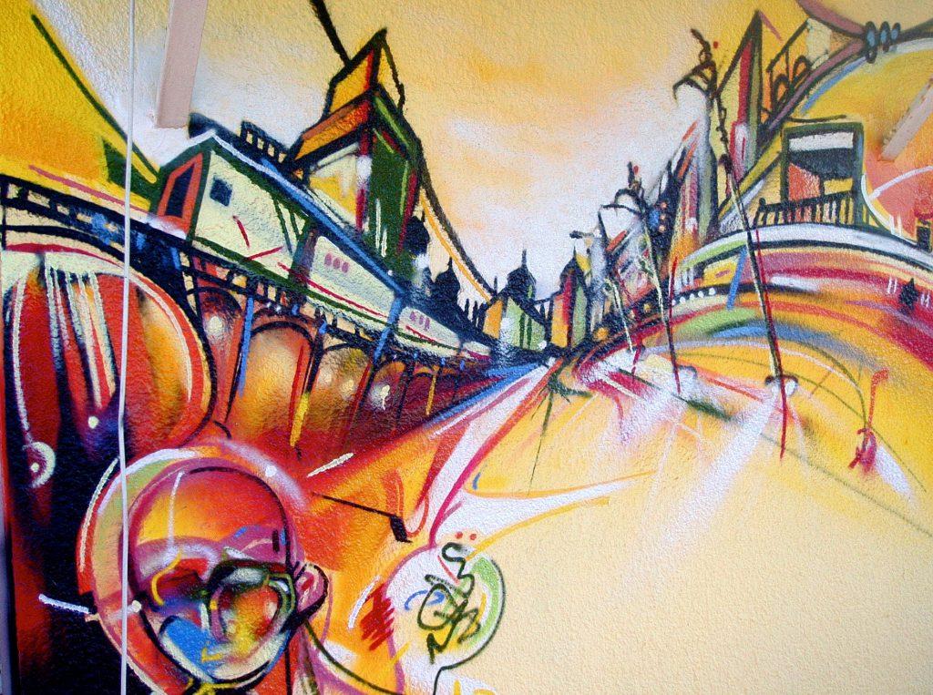 Barcelona Graffiti Choll Nadib Bandi