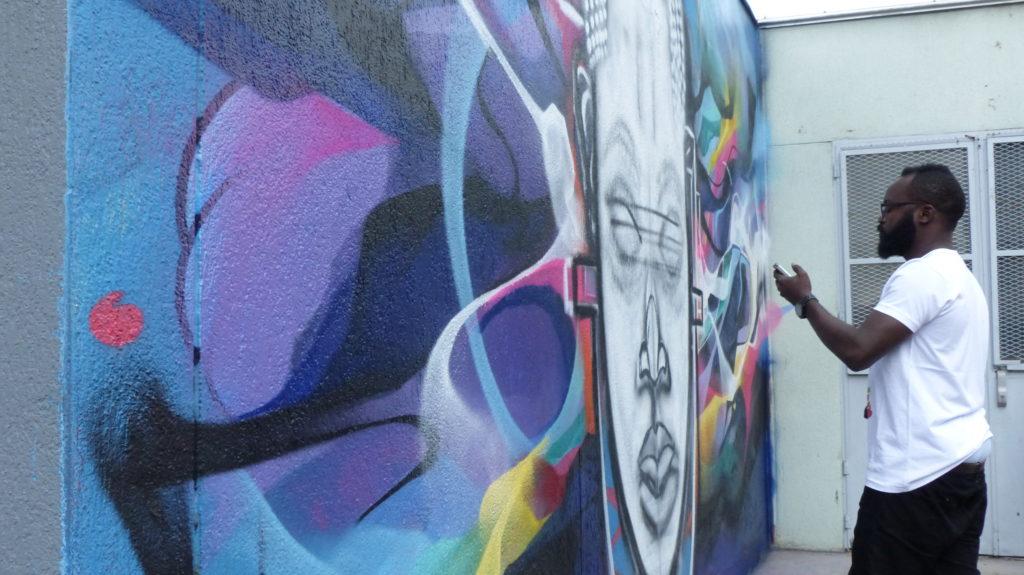 Post Graffiti Vaudou, Bandi et SMI à Vitry-sur-Seine