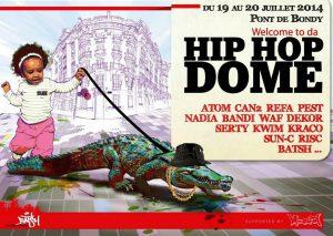 hip hop dome- graffiti