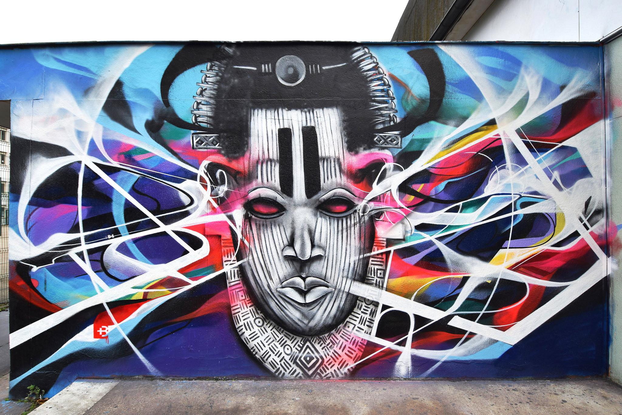 Smi bandi voodoo post graffiti