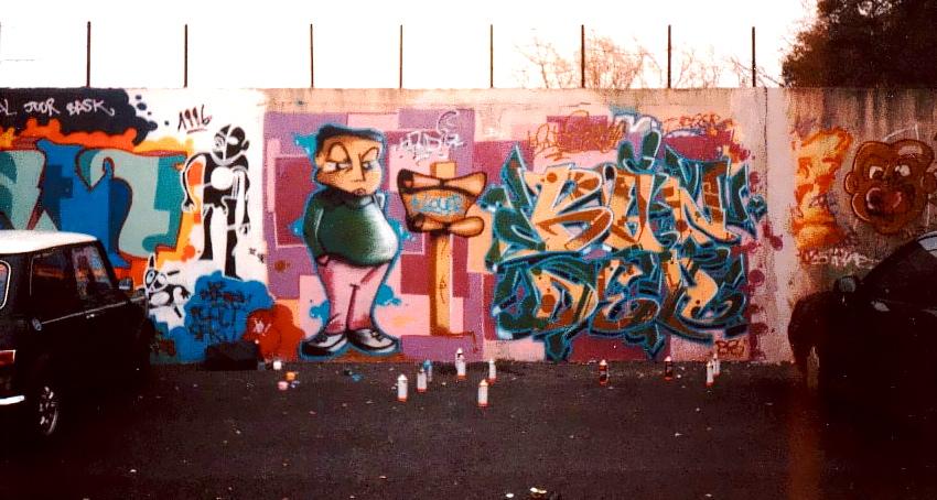 Biography Nadib Bandi Abstract Post Graffiti In Geneva And Paris
