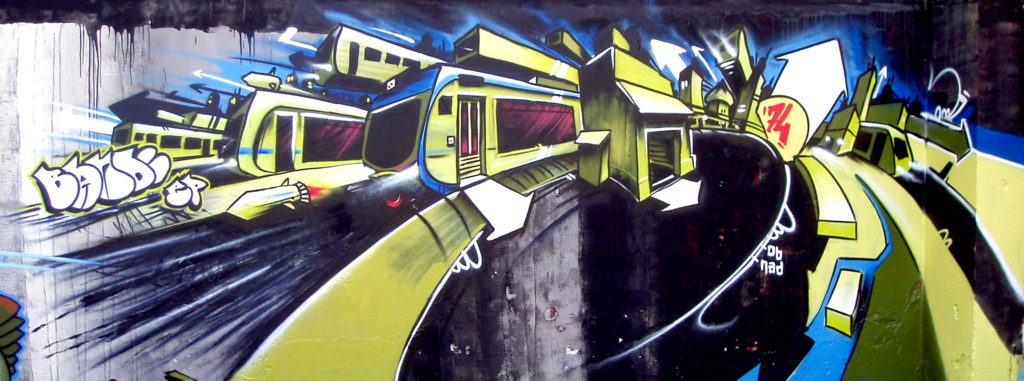 Bandi Lyon Graffiti Croix-Rousse