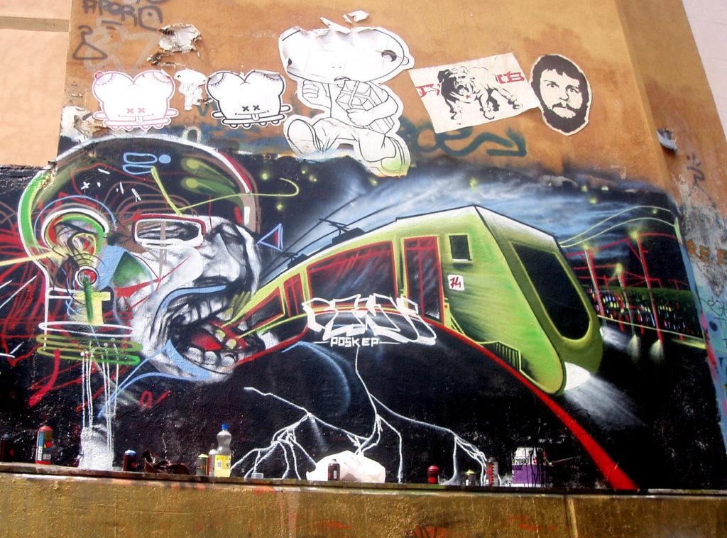 Barcelona Graffiti Bandi Choll 2005
