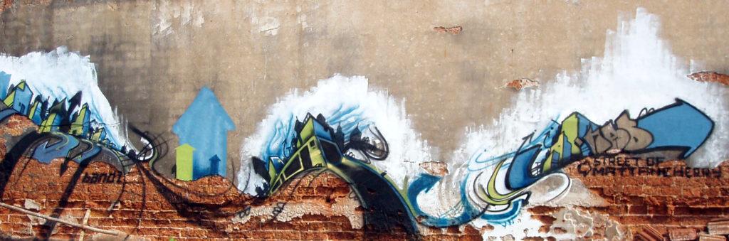 Session Graffiti au Kerala Cochin