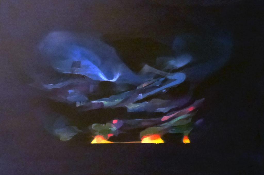 Peinture abstraite contemporaine Nadib Bandi