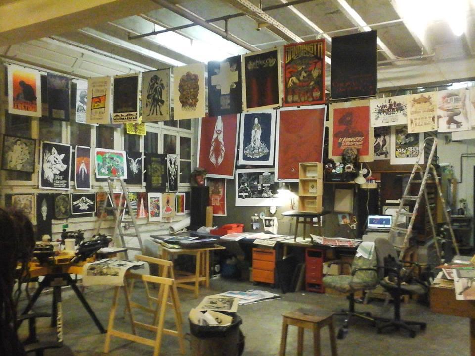 Crache Papier, Atelier de sérigraphie à Genève
