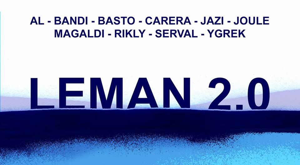 Leman 2.0 Exposition collective d'art urbain à Genève