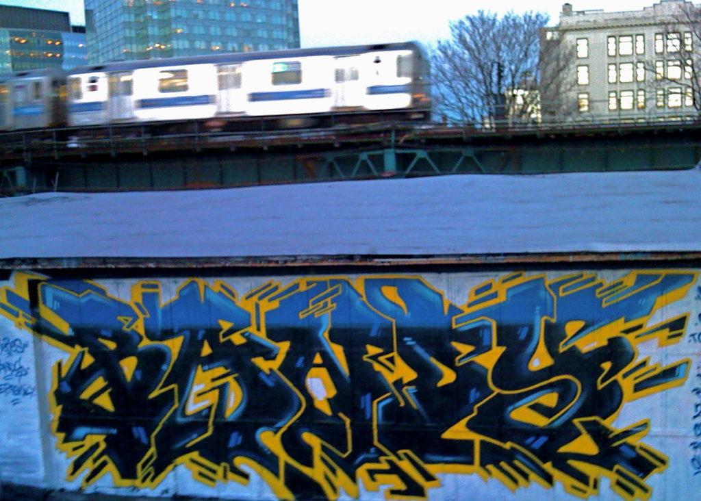 Graffiti à New-York Bandi Five-points