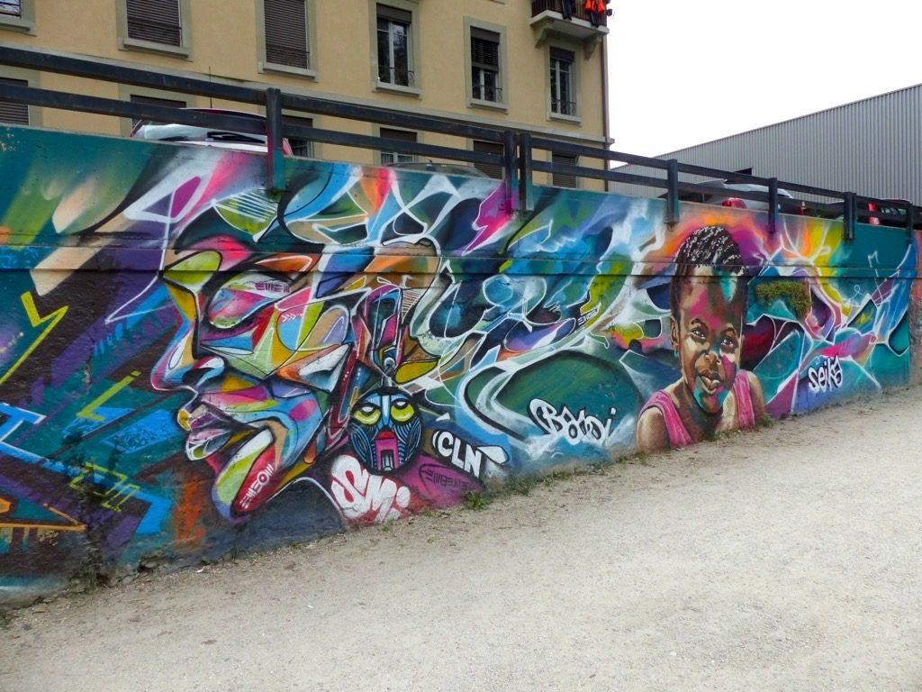Joule SMI Bandi et Seika Graffiti à Genève