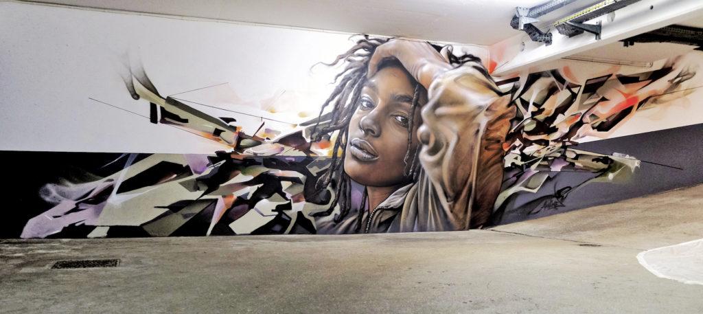 akhine et bandi graffiti paris-13 2019