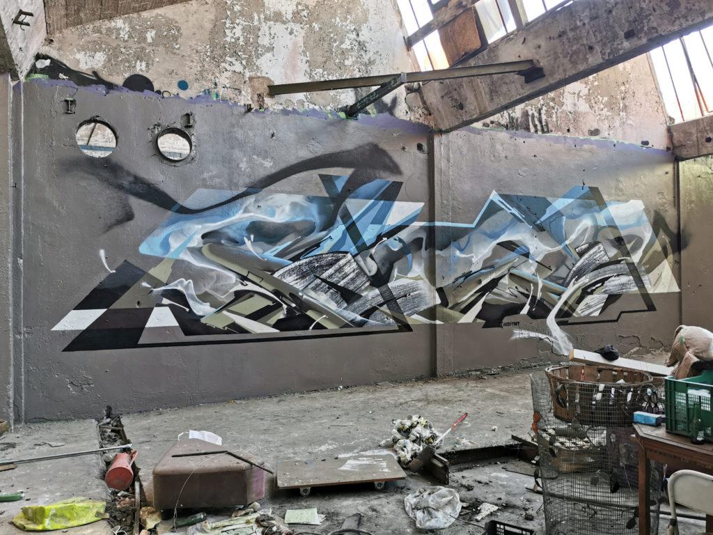 Graffiti in Lyon with Ynot - Nadib Bandi